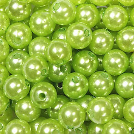 Deko-PERLEN apfelgrün