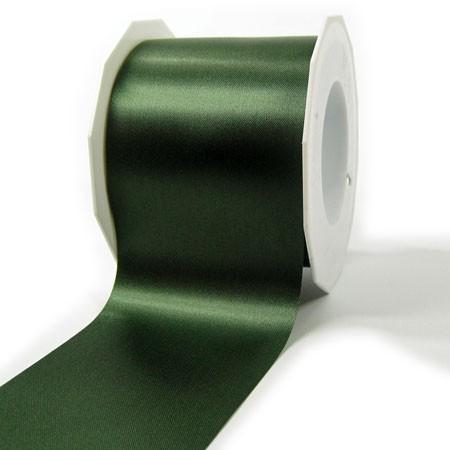 Satinband-ADRIA, Tischband: 72 mm breit / 25-Meter-Rolle, dunkelgrün