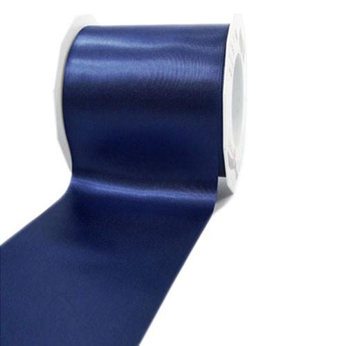 Satinband-ADRIA, Tischband: 72 mm breit / 25-Meter-Rolle, dunkelblau