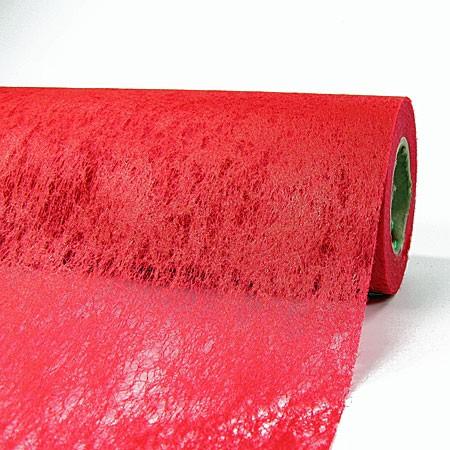 Deko-Vlies: 700mm breit / 25m-Rolle, rot