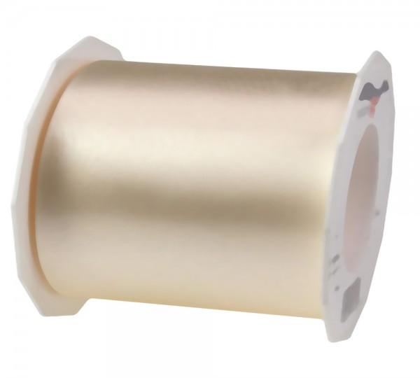 Satinband-ADRIA, creme - Tischband: 112 mm breit / 25 m