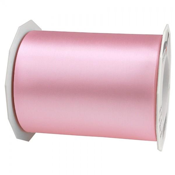 Satinband-ADRIA, rosa: 112 mm breit / 25 m - Tischband
