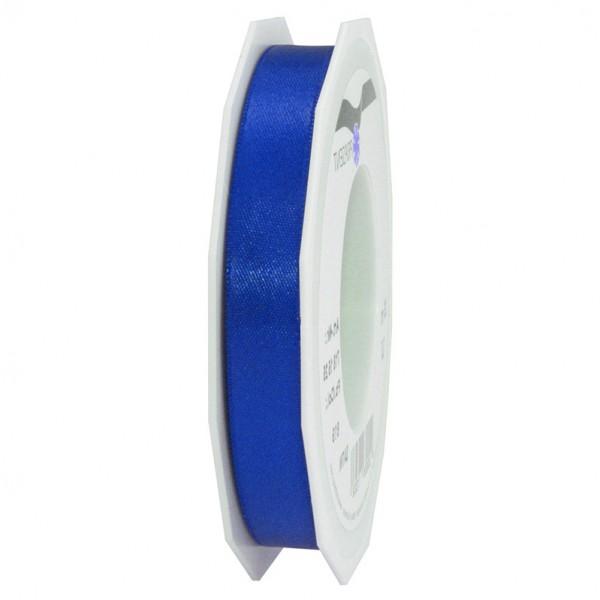 Satinband-PRÄSENT, royalblau: 15mm breit / 25m-Rolle, mit feiner Webkante.