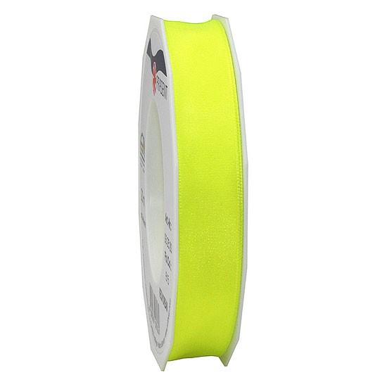 DREAM-Drahtkantenband: 15mm breit / 20m-Rolle, Neon-gelb