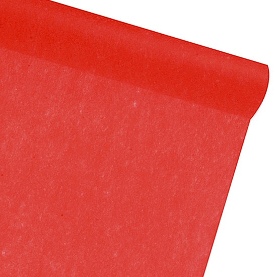 Dekovlies-PARTY: 300mm breit / 25m-Rolle: rot