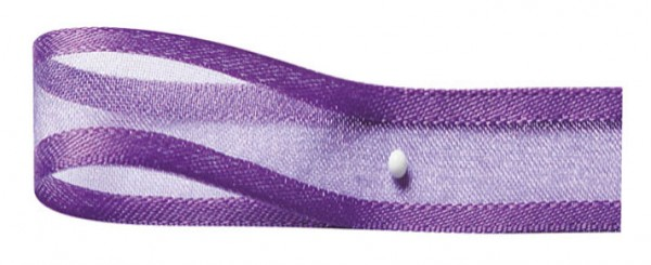 Florband: 25mm breit / 25m-Rolle, lila