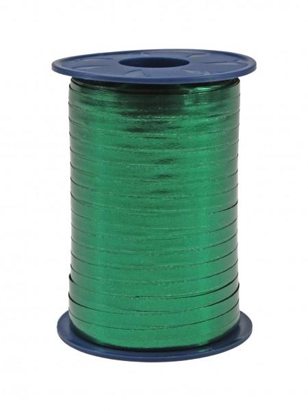 Polyringelband: 5mm breit / 400m-Rolle, dunkelgrün-metallic