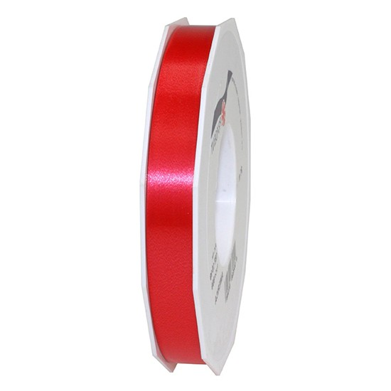 Polyband-AMERICA: 15mm breit / 91m-Rolle, rot.