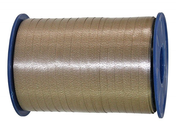 Ringelband: 5mm breit / 500m-Rolle, taupe.