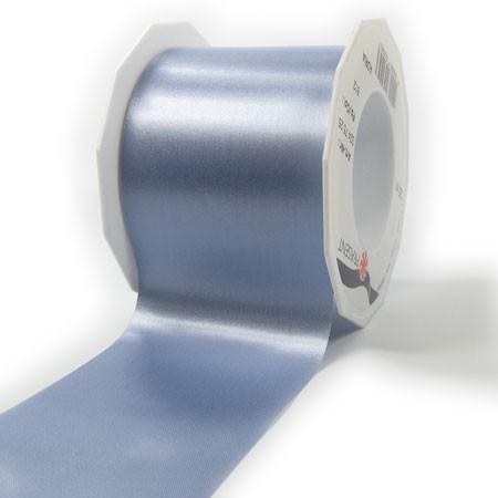 Satinband-ADRIA, hellblau: 72 mm breit / 25 m - Tischband