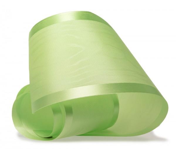 Tischband-LUXURY, lindgrün: 100mm breit / 20m-Rolle