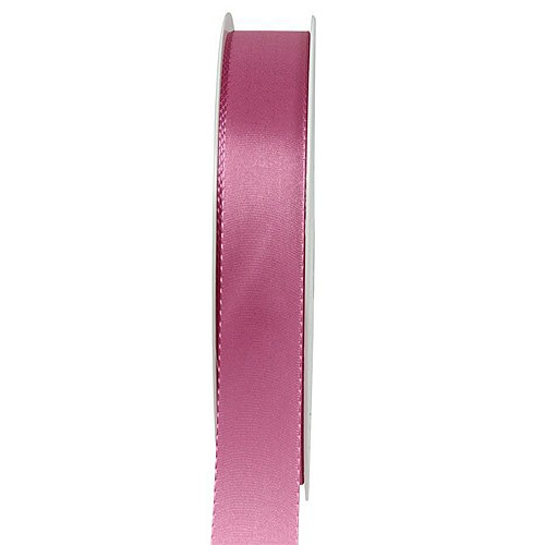Taftband-VISCO: 15mm breit / 50m-Rolle, altrosa