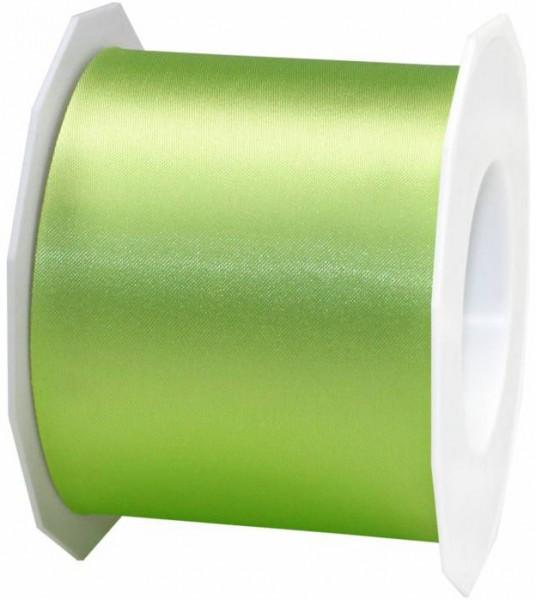 Satinband-ADRIA, Tischband: 72mm breit / 25m-Rolle, pistazie