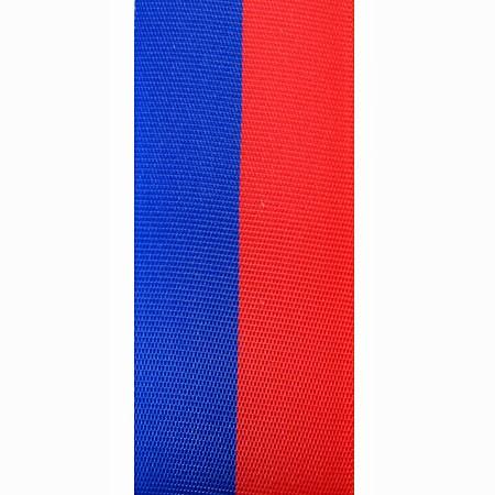 Nationalband-Vereinsband-Schützenband Blau-Rot, 40mm breit / 25m-Rolle