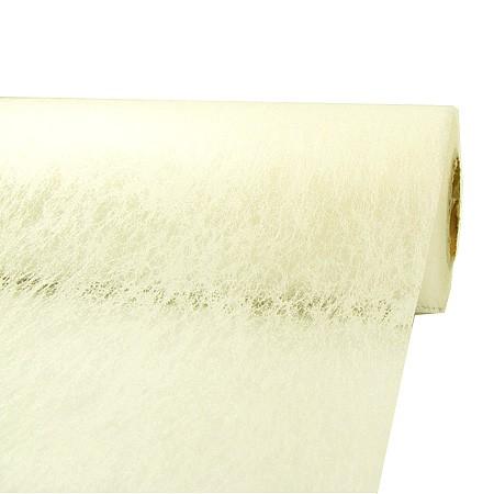 Deko-Vlies: 230mm breit / 20m-Rolle, creme