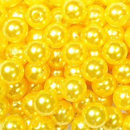 Deko-PERLEN gelb