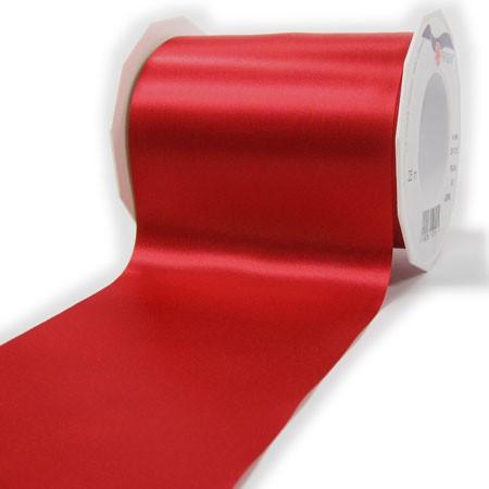 Satinband-ADRIA, Tischband: 112 mm breit / 25-Meter-Rolle, rot
