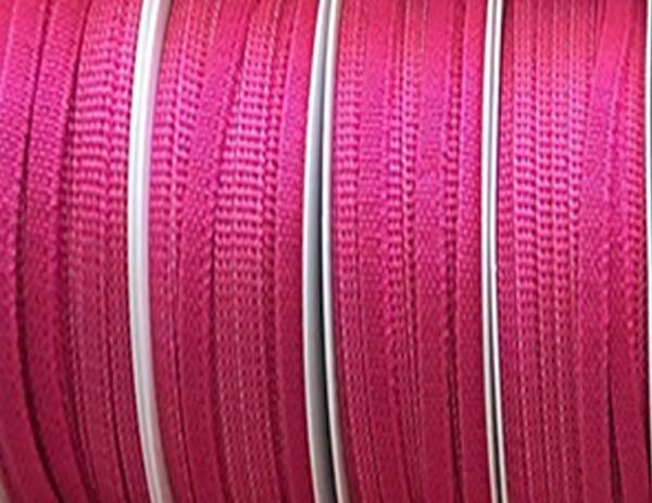 Gummiband 5mm breit / 20m-Rolle, pink - waschbar bis 60º Grad