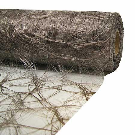 Original Sizoweb Dekovlies: 30cm / 5m-Rolle, taupe (grau)