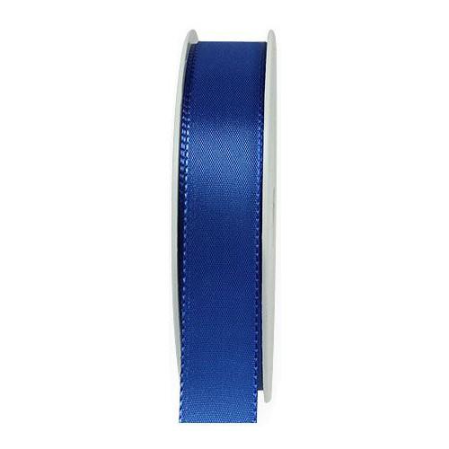 Taftband, royalblau: 25mm breit / 50m-Rolle, mit feiner Webkante.