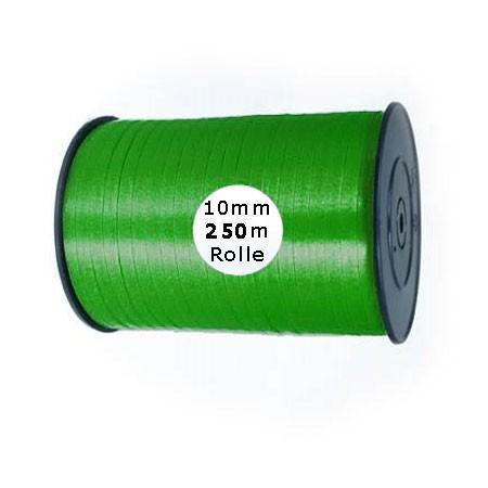 Ringelband: 10mm breit / 250m-Rolle, apfelgrün