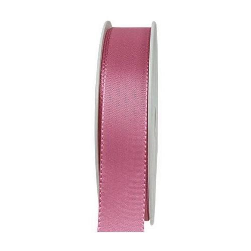 Taftband, altrosa: 25mm breit / 50m-Rolle, mit feiner Webkante.