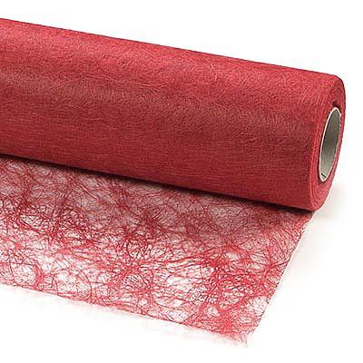 Sizoflor®: 30cm breit / 25m-Rolle, rot