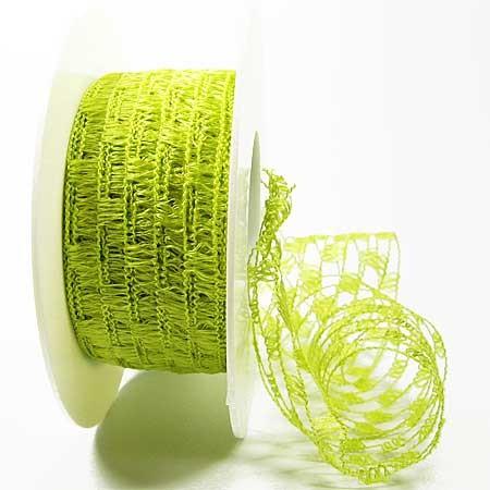 Gitterband, hellgrün: 40mm breit / 15m-Rolle.