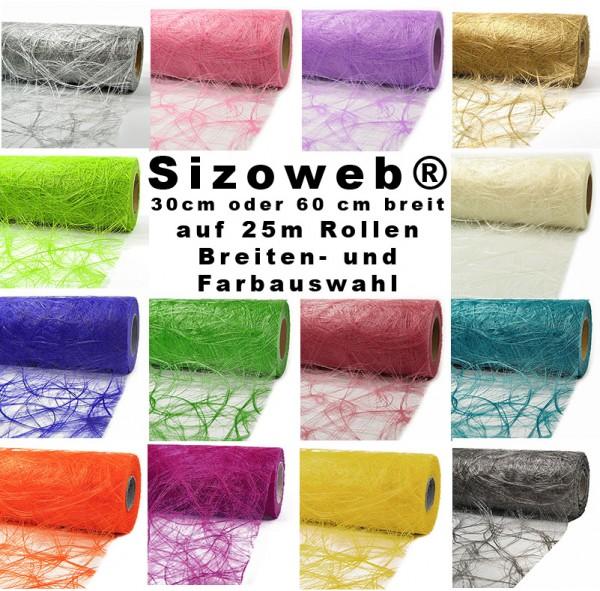 Sizoweb 30cm oder 60cm breit: Breiten- und Farbauswahl