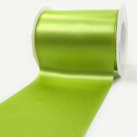 Satinband-ADRIA, lindgrün: 112 mm breit / 25 m - Tischband