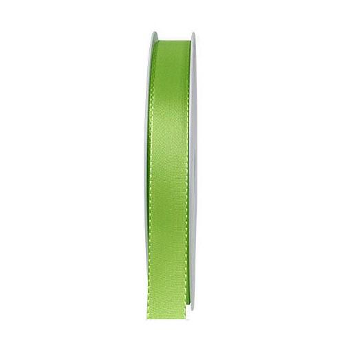 Taftband: 15mm breit / 50m-Rolle, lindgrün.