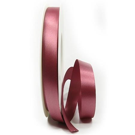Satinband 10mm breit / 25m-Rolle: altrosa (020)