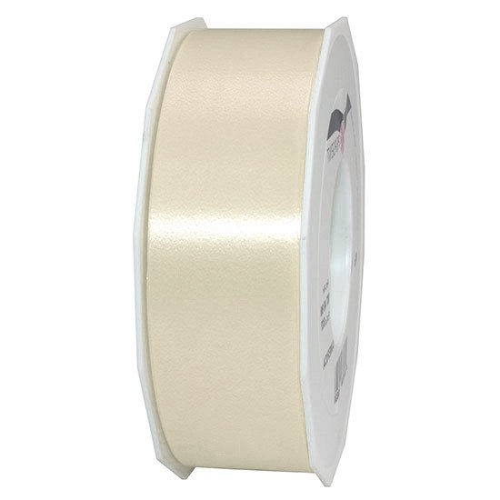 Polyband-AMERICA: 40mm breit / 91m-Rolle, creme.
