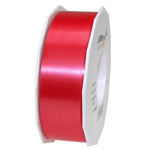 Polyband-AMERICA: 40mm breit / 91m-Rolle, rot