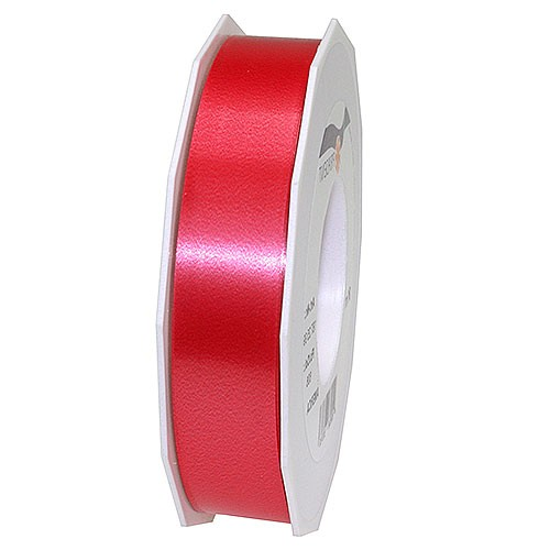 Polyband-AMERICA: 25mm breit / 91m-Rolle, rot