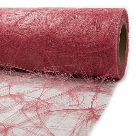 Sizoweb ® Dekovlies: 60cm breit / 25m-Rolle, altrosa