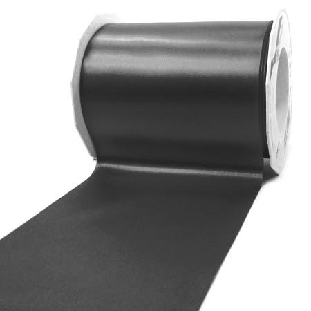 Satinband-ADRIA, Tischband: 112 mm breit / 25-Meter-Rolle, schwarz