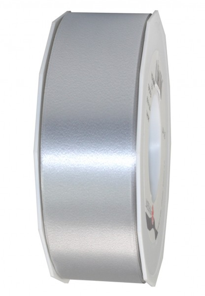 Polyband-AMERICA: 40mm breit / 91m-Rolle, silber