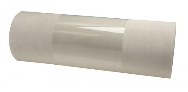 Organzaband: 280mm breit / 10m-Rolle, creme.