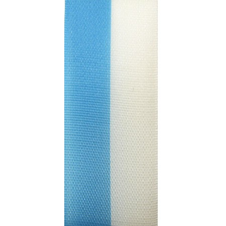 Vereinsband Schützenband, blau-weiss, 55mm breit / 25m-Rolle