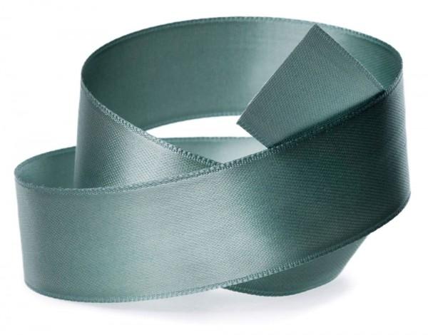 Satinband SATINA: 6 mm breit, 50 Meter, seladon-grün