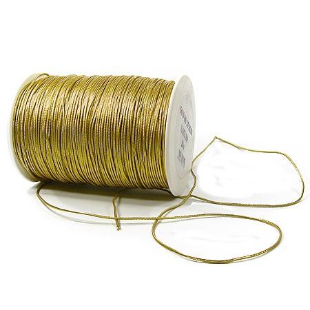 ElastiK-Kordel Premium, gold: 2mm breit / 250 Meter