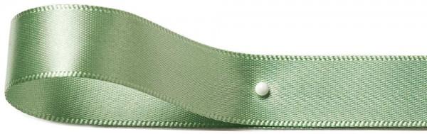 """Satinband """"SINFINITY"""", mintgrün: 6mm breit / 50m-Rolle, mit feiner Webkante"""