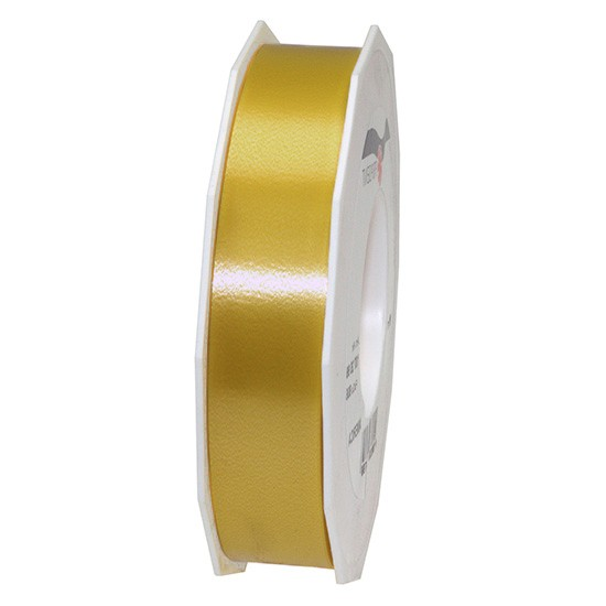 Polyband-AMERICA: 25mm breit / 91m-Rolle, gold.