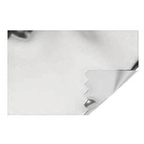 Zauberfolie: 700mm breit / 20m-Rolle, silber hochglanz