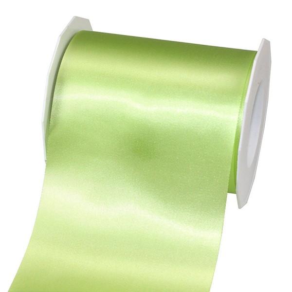 Satinband-ADRIA, Tischband: 112 mm breit / 25-Meter-Rolle, pistazie