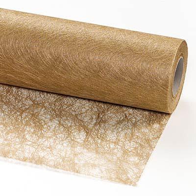 Sizotlor, 30cm breit / 25m-Rolle, gold