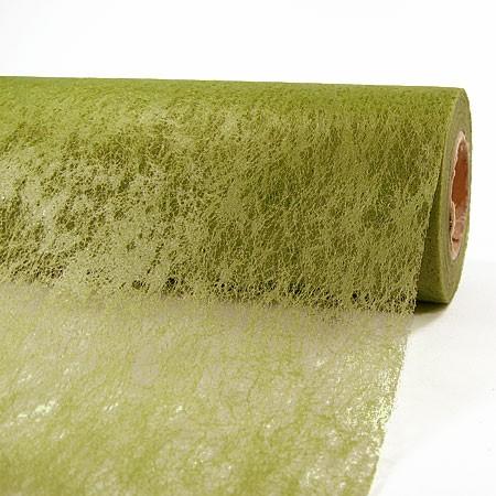 Deko-Vlies: 700mm breit / 25m-Rolle, olivgrün