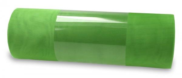 Organzaband: 280mm breit / 10m-Rolle, apfelgrün