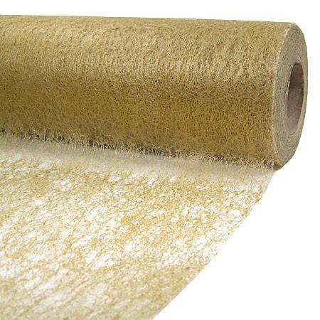 Deko-Vlies: 230mm breit / 20m-Rolle, gold